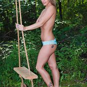 Nikki Sims On The Swing Photo Set