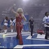 Jessica Simpson I Think I'm In Love With You Live NFL Video