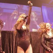 Carmen Electra Motionball Toronto Sexy Leather Outfit HD Video