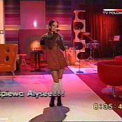 Alizee Moi Lolita TV Pol 2001 HQ 150714avi 00006