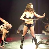 Britney Spears Sexy Dominatrix With Whip Circus Tour HD Video