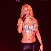 Shakira Calentar Live From Paris Very Sexy Spandex Leggings HD Video