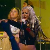 Christina Aguilera Get mine get yours Live 2002 CDUK 150714avi 00003