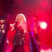 Britney Spears Freak Show in Vegas 5 Sexy Latex Catsuitmp4 00001