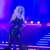 Britney Spears Freak Show in Vegas 5 Sexy Latex Catsuitmp4 00007