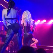 Britney Spears Freak Show in Vegas 5 Sexy Latex Catsuitmp4 00010