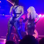 Britney Spears Freak Show in Vegas 5 Sexy Latex Catsuitmp4 00012