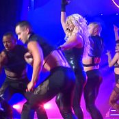 Britney Spears Freak Show in Vegas 5 Sexy Latex Catsuitmp4 00013