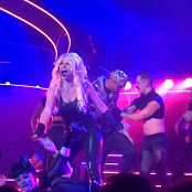 Britney Spears Freak Show in Vegas 5 Sexy Latex Catsuitmp4 00015