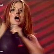 Spice Girls Who Do You Think You Are Geri Sexy Latex top 1997 HQ newavi 00011