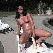 Ashley Blue Gets Oiled Up And Puts Giant Toys In Her Asshole HD Video