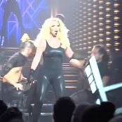 Britney Spears Live In Vegas Wearing Sexy Black Catsuit HD Video