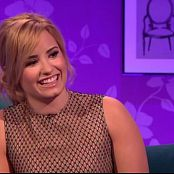 Demi Lovato Alan Can Chatty Man Interview Video