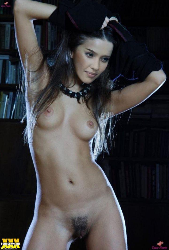 Alba nude jessica celebrity