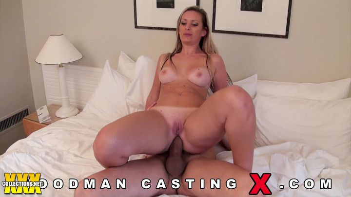 Cum on oiled tits