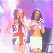 Spice Girls Who Do You Think You Are Wannabe Live Brit Awards 1997 new 250914avi 00002