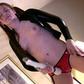 Megan In Shiny Latex Cumming While Dancing HD Video