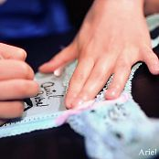 Ariel Rebel Striptease Signing Undies HD Video