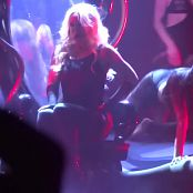 Britney Spears Im A Slave 4 U Live Las Vegas 5 9 2014 Sexy Black Latex Catsuit 291014mp4 00001