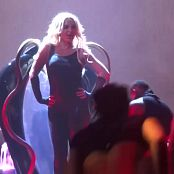 Britney Spears Im A Slave 4 U Live Las Vegas 5 9 2014 Sexy Black Latex Catsuit 291014mp4 00002