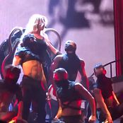 Britney Spears Im A Slave 4 U Live Las Vegas 5 9 2014 Sexy Black Latex Catsuit 291014mp4 00003