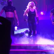 Britney Spears Im A Slave 4 U Live Las Vegas 5 9 2014 Sexy Black Latex Catsuit 291014mp4 00008