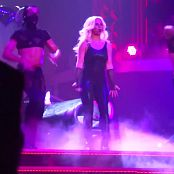 Britney Spears Im A Slave 4 U Live Las Vegas 5 9 2014 Sexy Black Latex Catsuit 291014mp4 00009