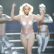Britney Spears Womanizer Live 2014 Glitter Outfit HDmp4 00003
