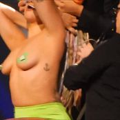 Lady Gaga Fully Nude In Concert Outfit Swap HD Video