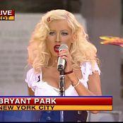 Christina Aguilera Aint No Other Man Live GMA 2006 HD Video