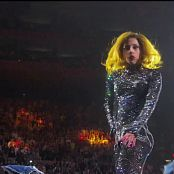 Lady Gaga Sparkling Catsuit Live In Concert HD Video