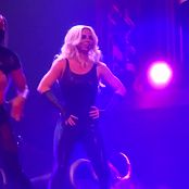 Britney Spears Very Sexy In Shiny Black Latex Catsuit HD Video