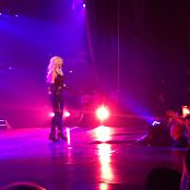 Get Naked Slave 4 U Freakshow Britney Spears Piece Of Me Tour Sexy Black Latex Catsuit 301114mp4 00002