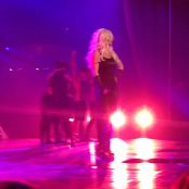 Get Naked Slave 4 U Freakshow Britney Spears Piece Of Me Tour Sexy Black Latex Catsuit 301114mp4 00003