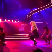 Get Naked Slave 4 U Freakshow Britney Spears Piece Of Me Tour Sexy Black Latex Catsuit 301114mp4 00005