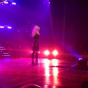 Get Naked Slave 4 U Freakshow Britney Spears Piece Of Me Tour Sexy Black Latex Catsuit 301114mp4 00008