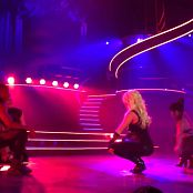 Get Naked Slave 4 U Freakshow Britney Spears Piece Of Me Tour Sexy Black Latex Catsuit 301114mp4 00009
