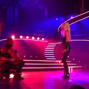 Get Naked Slave 4 U Freakshow Britney Spears Piece Of Me Tour Sexy Black Latex Catsuit 301114mp4 00010