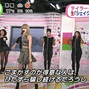 Taylor Swift Shake It Off Sukkiri 05 11 2014 1080its 00003