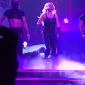 Britney Spears Sexy Black Latex Catsuit Live POM HD Video