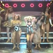 Britney Spears Circus Dress Rehersal HD Video