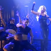 Britney Spears Sexy Black Latex Catsuit POM Tour HD Video