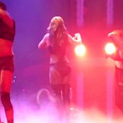 Britney Spears Slave Live Sexy Outfit 2014 02 15 291214mp4 00009
