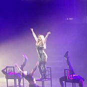 Britney Spears Hot Black Lingerie Live In Vegas HD Video