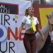 Britney Spears Baby One More Time Live Hair Zone Tour 1998 Video