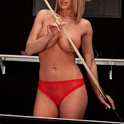 Nikki Sims Pool Shark Picture Set