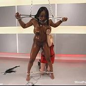 Jada Fire Oiled And Tied Up Electric Torture BDSM Video