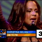 Christina Milian AM To PM Live TOTP UK 2002 Video