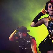Rihanna Tour Black Latex Parts new 020415110avi 00003