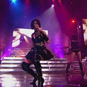 Rihanna Tour Black Latex Parts new 020415110avi 00004